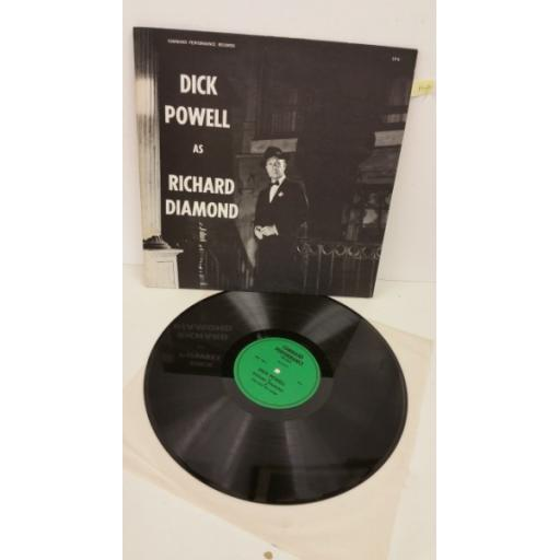 DICK POWELL dick powell as richard diamond, LP-6