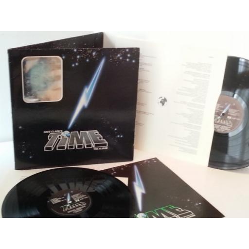 SOLD: DAVE CLARK'S time (the album), vinyl LP, gatefold, double album, hologramed front cover