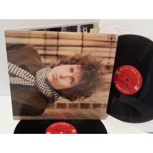 BOB DYLAN blonde on blonde, gatefold, double album, LP 5110