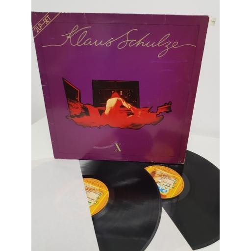 """KLAUS SCHULZE, x, 0080.023, 2x12"""" LP"""