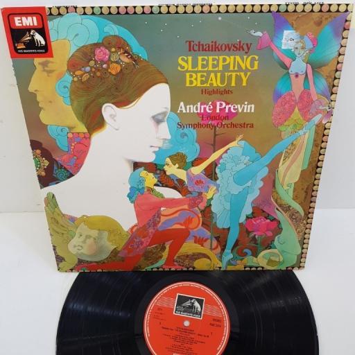 """Tchaikovsky, André Previn, London Symphony Orchestra – Sleeping Beauty - Highlights, ASD 3370, 12"""" LP"""