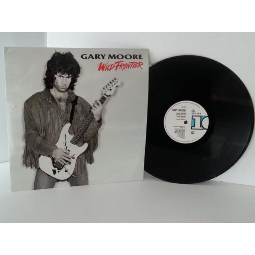 GARY MOORE wild frontier, vinyl 12 inch