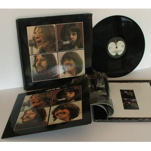 "THE BEATLES Let it be Box set with the book ""The Beatles get back"", PX51 not listed on package"