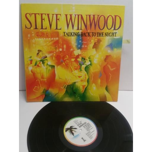 STEVE WINWOOD talking back the night ILPS9777