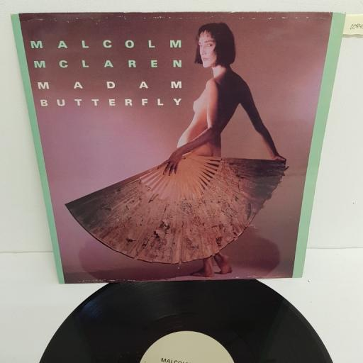 "MALCOLM MCLAREN, madam butterfly un bel di vedremo , B side first couple out extended mix , MALC 512, 12"" single"