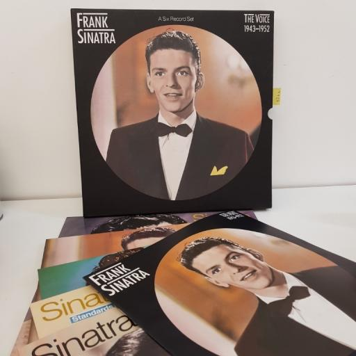"SINATRA, FRANK, the voice, a six record box set, almost brand new, 12"" 1943-1952, CBS 450222 1"