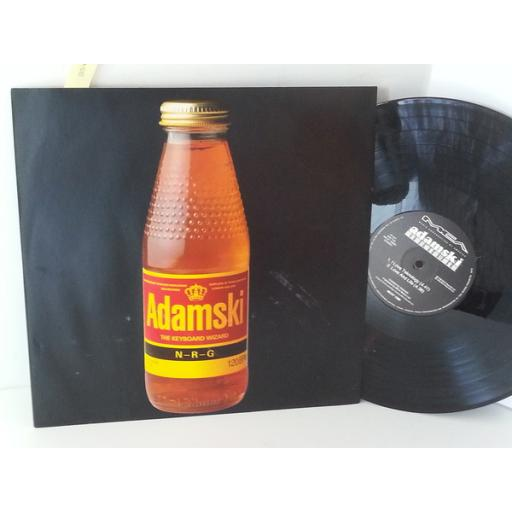 ADAMSKI n-r-g, 12 inch single, 4 tracks, MCAT 1386