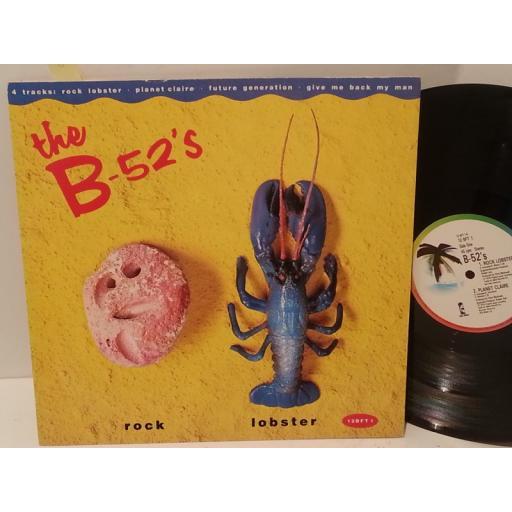"THE B-52'S rock lobster, 12 BFT 1, 12"" single"