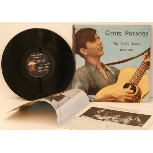 GRAM PARSONS, the early years 1963-1965.