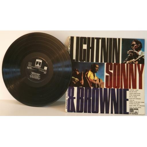 SONNY TERRY, BROWNIE MCGHEE AND LIGHTIN' HOPKINS, lightin', sonny and brownie...