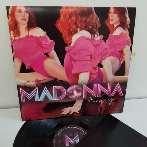 "MADONNA, hung up, 12"" INCH SINGLE, W695T"