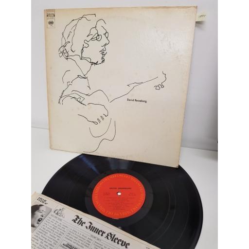"DAVID BROMBERG, david bromberg, C 31104, 12"" LP"