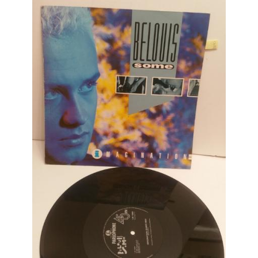 "BELIOUS SOME imagination 3 TRACK 12"" SINGLE 12R1986"