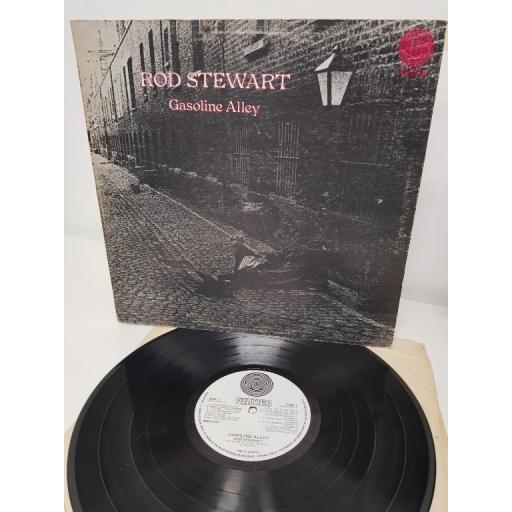 "ROD STEWART, gasoline alley, 6360 500, 12"" LP"