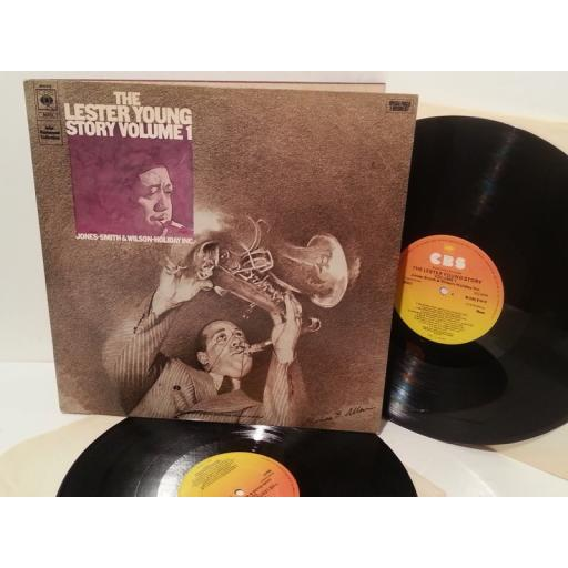 LESTER YOUNG the lester young story volume 1, gatefold, double album, 88223
