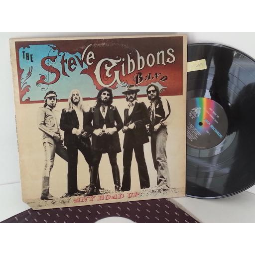 THE STEVE GIBBONS BAND any road up, MCA 2187