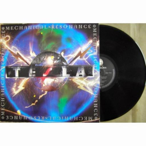 "TESLA, mechanical resonance, 924 120-1, 12"" LP"