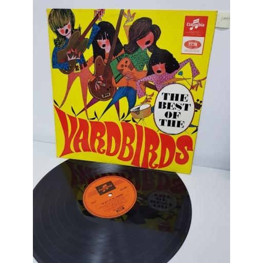 "SOLD : THE YARDBIRDS, the best of the yardbirds, OSX 7824, 12"" LP"