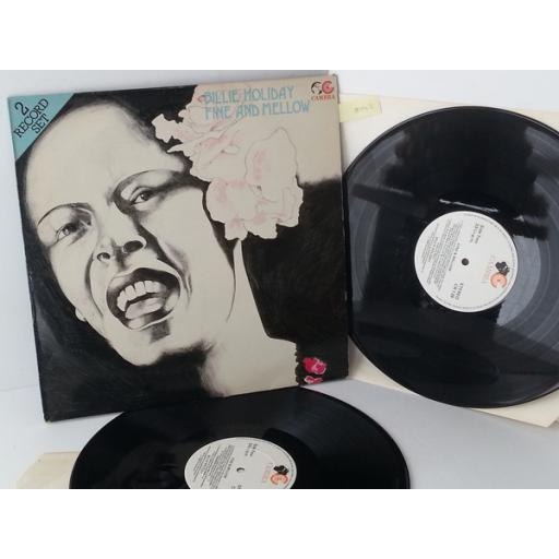 BILLIE HOLIDAY fine and mellow, double album, CR139
