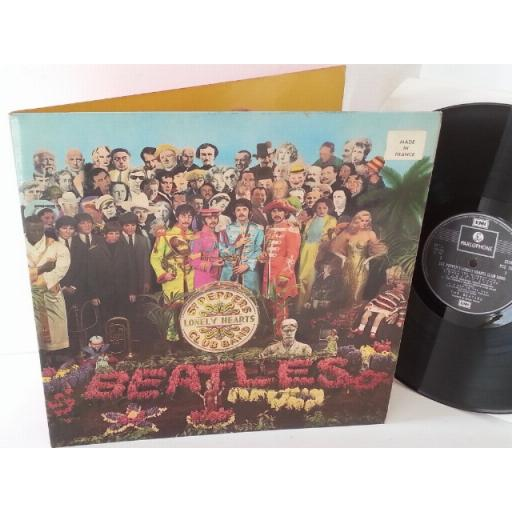 THE BEATLES sgt peppers lonely hearts club band, MADE IN FRANCE