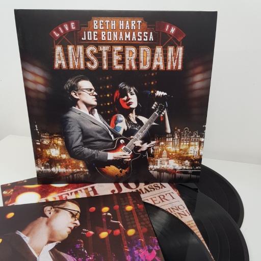 "BETH HART & JOE BONAMASSA, live in amsterdam, 3X12""LP, GATEFOLD, PRD 7434 1"