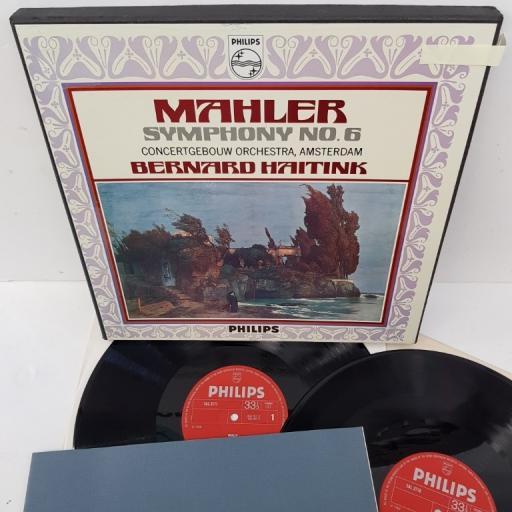 "Mahler — Concertgebouw-Orchester, Amsterdam / Bernard Haitink – Symphony No. 6, 839 797/98 LY, 2x12"" LP, box set"