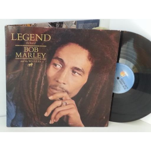 BOB MARLEY AND THE WAILERS legend, BMW 1, gatefold