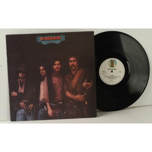 EAGLES, desperado Don Henley, Glenn Frey. First UK pressing 1973. Asylum [Vinyl]