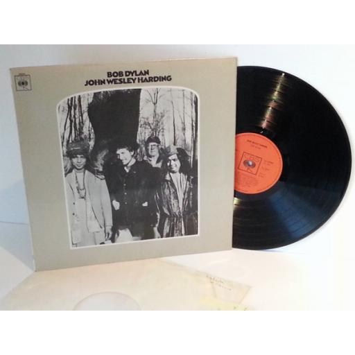 Bob Dylan JOHN WESLEY HARDING. 63252. First UK pressing 1967, MONO