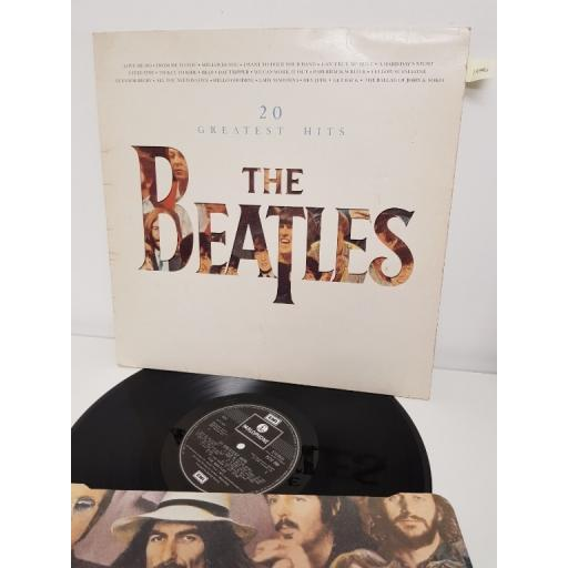 "THE BEATLES, 20 greatest hits, PCTC 260, 12"" LP"
