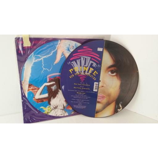 PRINCE new power generation, 12 inch picture disc, W 9525 TP