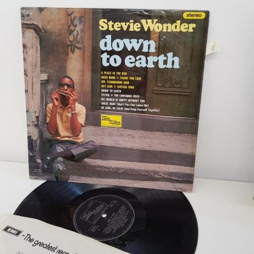 "SOLD : WONDER, STEVIE, down to earth, 12""LP, STML 11045"