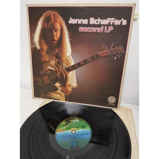 """JANNE SCHAFFER, janne scaffer's second LP, 6360 118, 12"""" LP"""