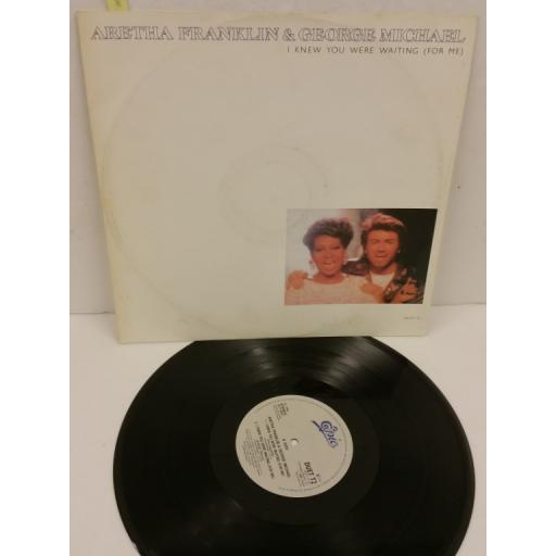 ARETHA FRANKLIN & GEORGE MICHAEL i knew you were waiting (for me), 12 inch single, DUET T2