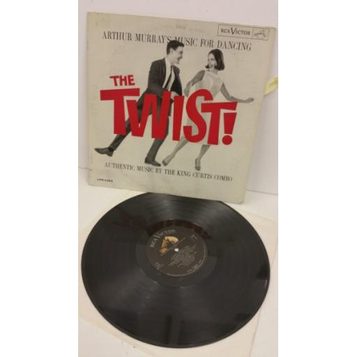KING CURTIS COMBO arthur murray's music for dancing the twist!, LPM 2494