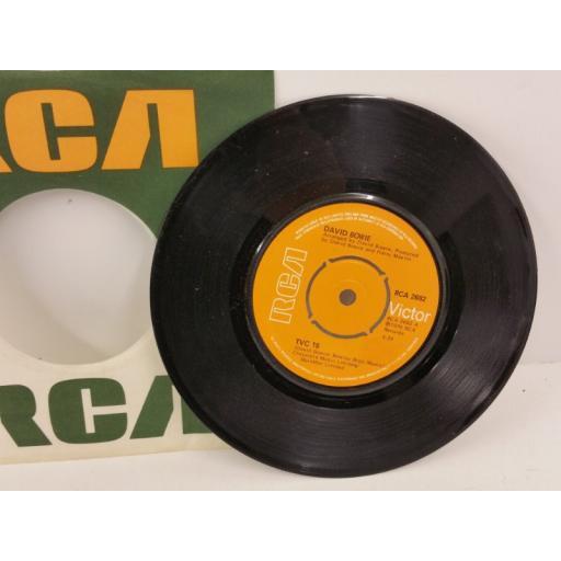 DAVID BOWIE tvc 15, 7 inch single, RCA 2682