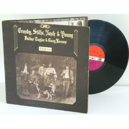 CROSBY, STILLS, NASH & YOUNG deja vu, gatefold, K 50001