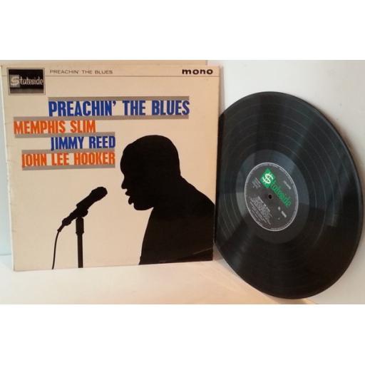 Memphis Slim, Jimmy Reed, John Lee Hooker PREACHIN THE BLUES