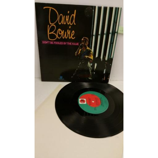 DAVID BOWIE don't be fooled by the name, 10 inch vinyl, DOW 1