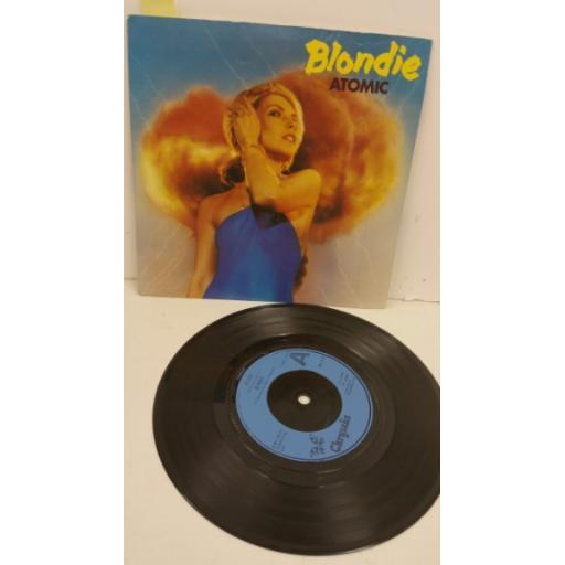 BLONDIE atomic, 7 inch single, CHS 2410