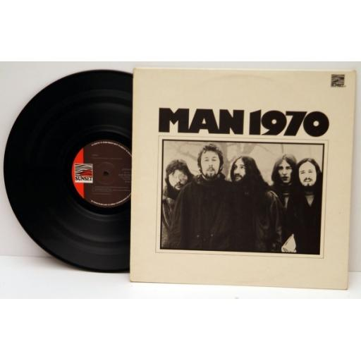 MAN, Man 1970 Top copy. Very rare. 1971. Matrix stamp. A2-U. B1-U. SUNSET. MAN