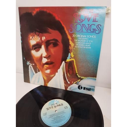 """ELVIS, love songs (20 original songs), NE 106, 12"""" LP"""