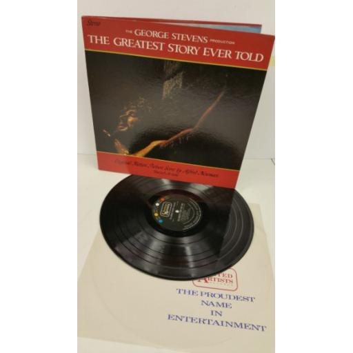 ALFRED NEWMAN the greatest story ever told, gatefold, UAS 5120