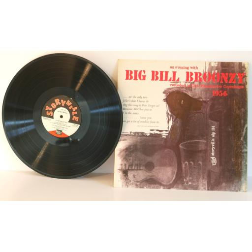 BIG BILL BROONZY, an evening with, recorded live in Club Montmartre Copenhage...