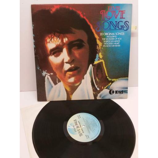 ELVIS PRESLEY ELVIS LOVE SONGS, elvis love songs, NE 1062