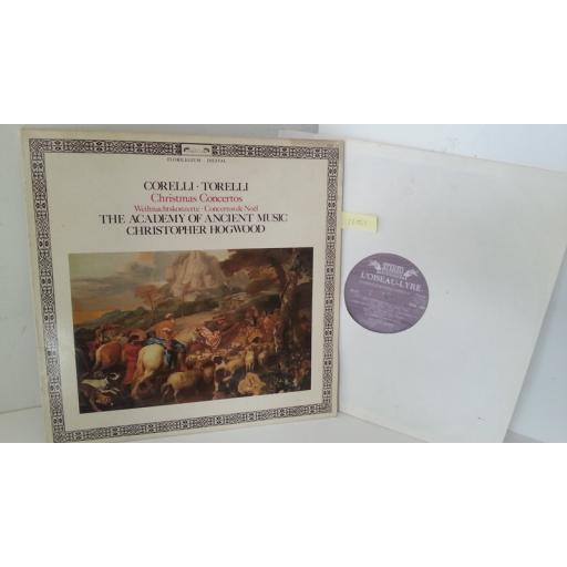 CORELLI, TORELLI, THE ACADEMY OF ANCIENT MUSIC, CHRISTOPHER HOGWOOD christmas concertos, DSDL 709