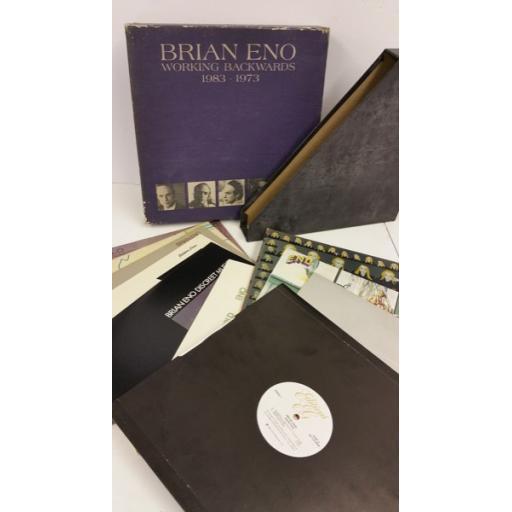BRIAN ENO working backwards 1983-1973, 11 x lp, boxset, EGBS 2