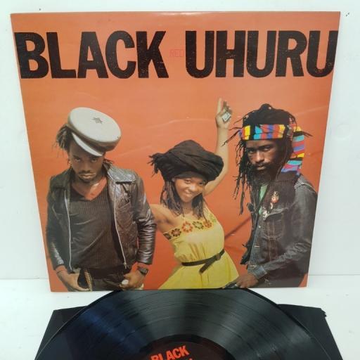 """BLACK UHURU, red, ILPS 9625, 12"""" LP"""