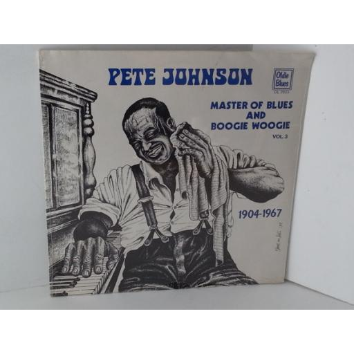 PETE JOHNSON master of blues and boogie woogie vol 3 1904-1967, OL 2823