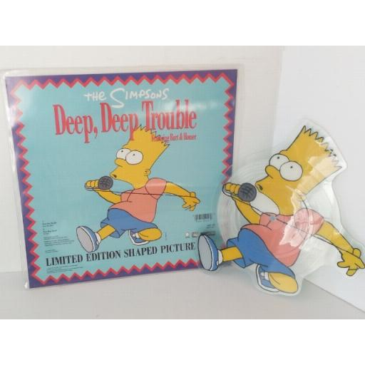 THE SIMPSONS deep deep trouble